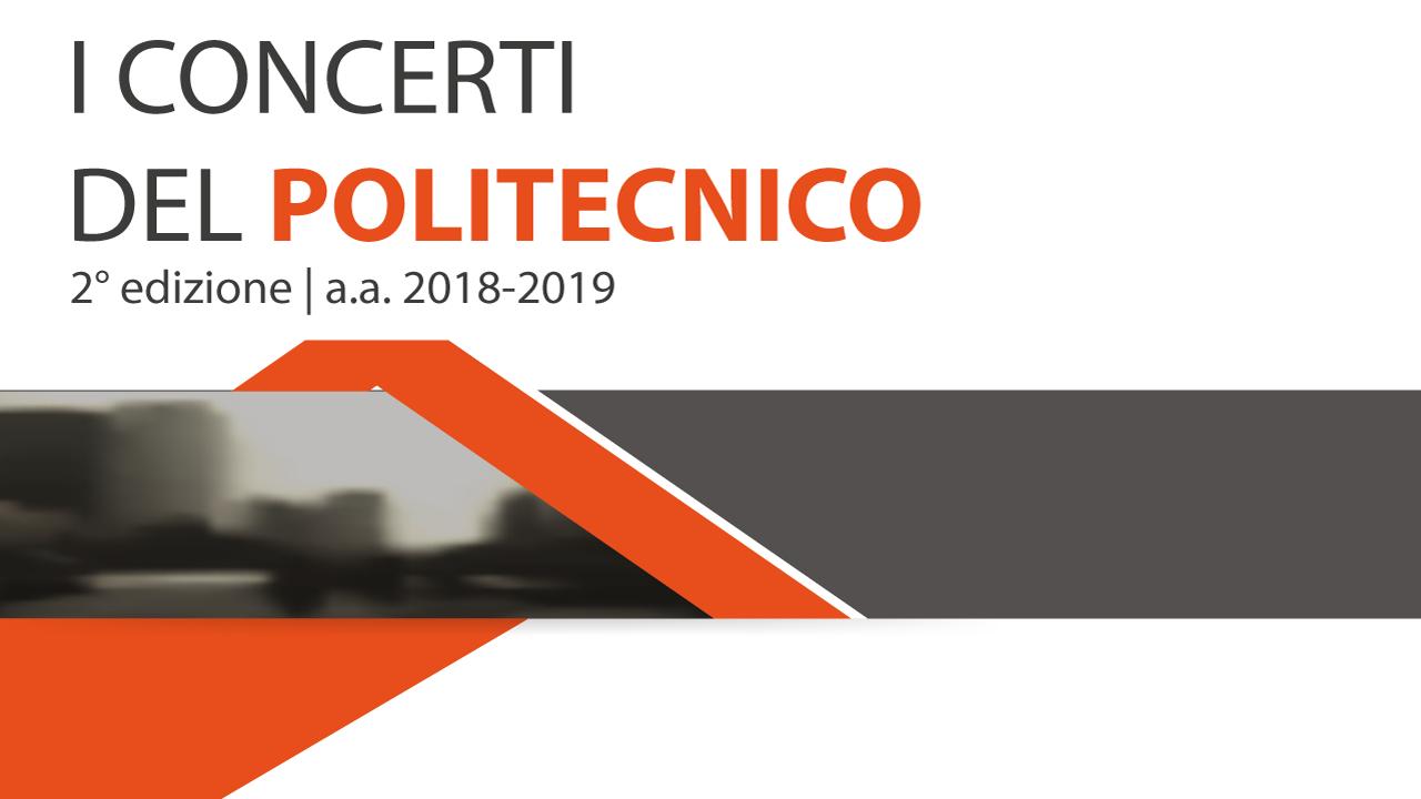 I Concerti del Politecnico, i tempi, le forme e gli spazi nella musica